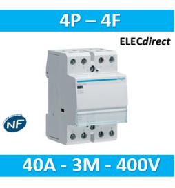 Hager - Contacteur 40A, 4F,...