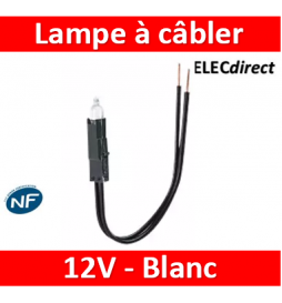 Lampes à câbler 12 V -...