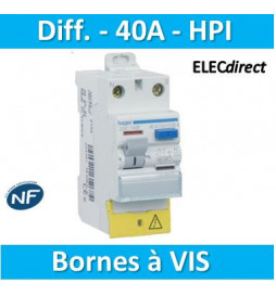 Hager - Inter dif 1P+N 40A...
