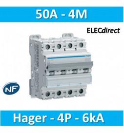 Hager - Disjoncteur 4P...