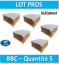 SIB - LOT PROS - 5 Boîtes...
