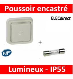 Legrand Plexo - Poussoir NO...