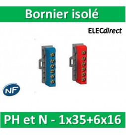 Schneider - Bornier isolé...