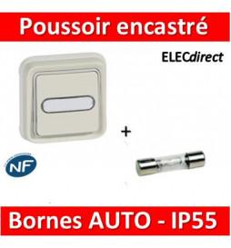 Legrand - Poussoir NO + NF...