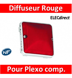 LEGRAND - Diffuseur rouge...