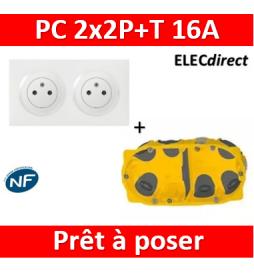 Legrand Dooxie - PC 2x2P+T...
