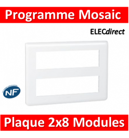 Legrand Mosaic - Plaque 2 x...