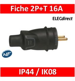 Legrand - Fiche 2P+T 16A -...