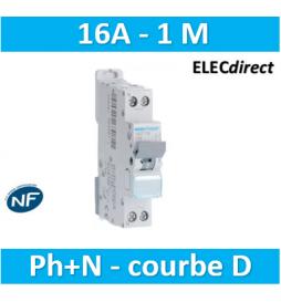 HAGER - Disjoncteur 1P+N...