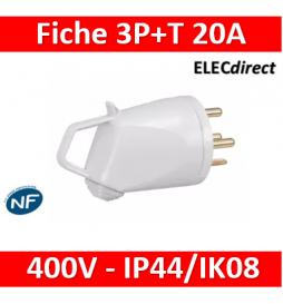 Legrand - Fiche 3P+T 20A...