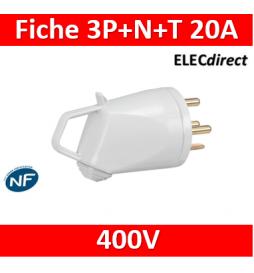 Legrand - Fiche 3P+N+T 20A...