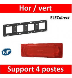 Legrand - Support 4 postes...
