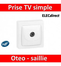 Legrand Oteo - Prise TV...
