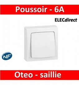 Legrand Oteo - Poussoir 6A...