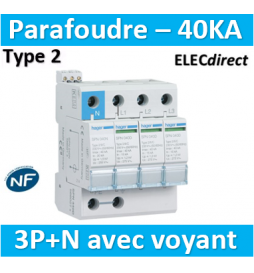 Hager - Parafoudre 4P...